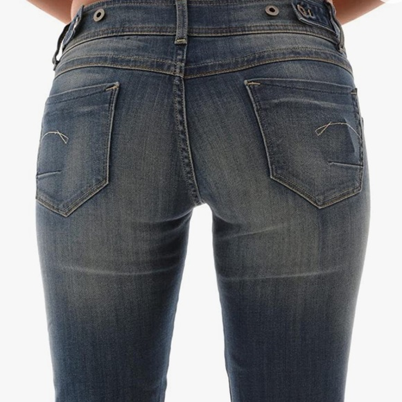 G Star Raw New Ford Straight Leg Jeans